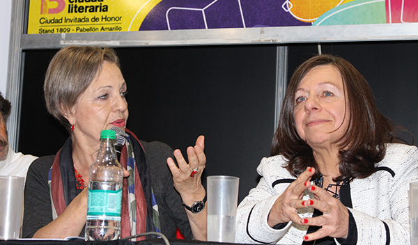 Beatriz Janin y Alicia Stolkiner