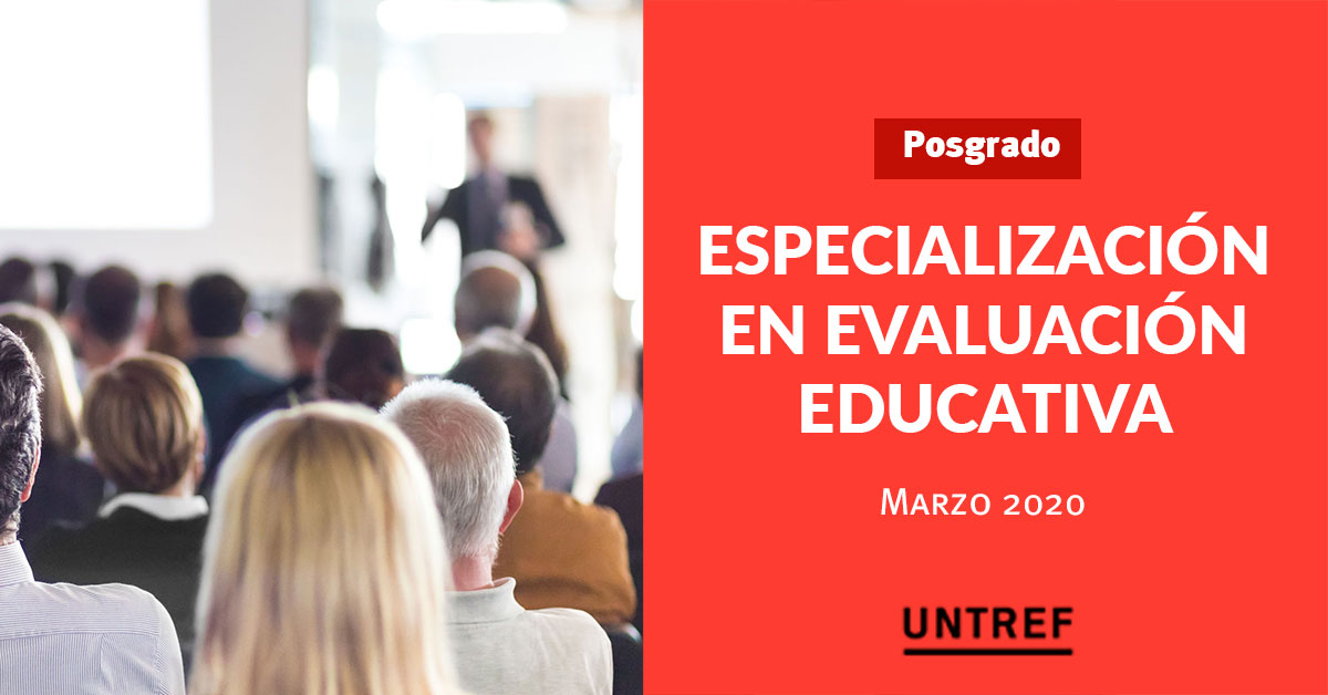 Especialización en Evaluación Educativa